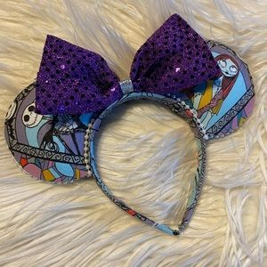Disney's Jack and Sally Mickey Mouse ears